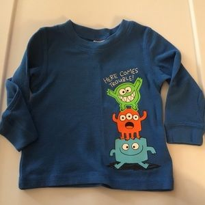 Circo Boy Here Comes Trouble Long Sleeve Tee 12m.